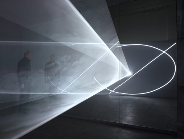 Anthony McCall in Dark Rooms, Solid Light
