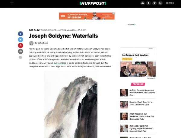 Joseph Goldyne: Waterfalls