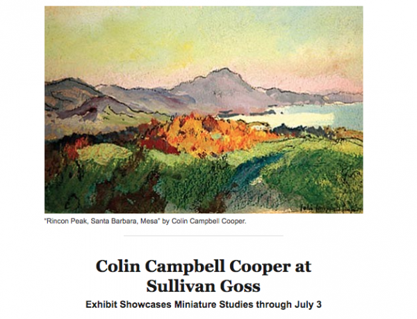 Colin Campbell Cooper at Sullivan Goss