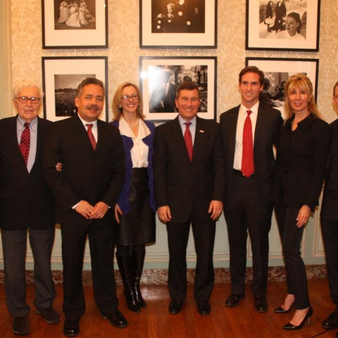 Gordon Parks Tribute at the US Embassy, Paris, France