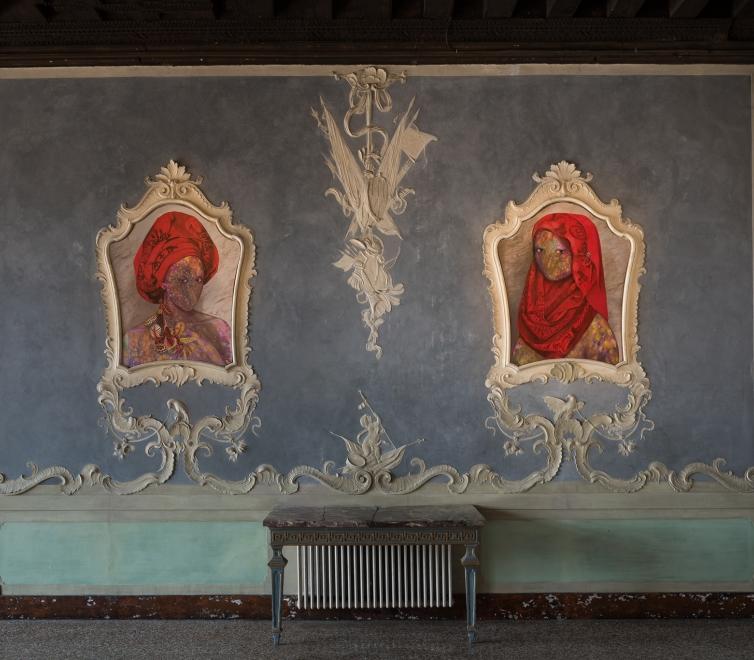 Firelei Báez in Future Generation Art Prize exhibition, 57th Venice Biennale