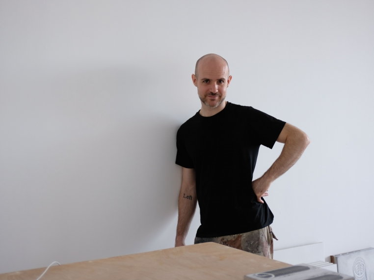Tina Kim Gallery presents a stop-motion video that takes a playful look at Balliano's monastic and labor intensive painting practice, as he layers the materials onto bespoke wooden panels.