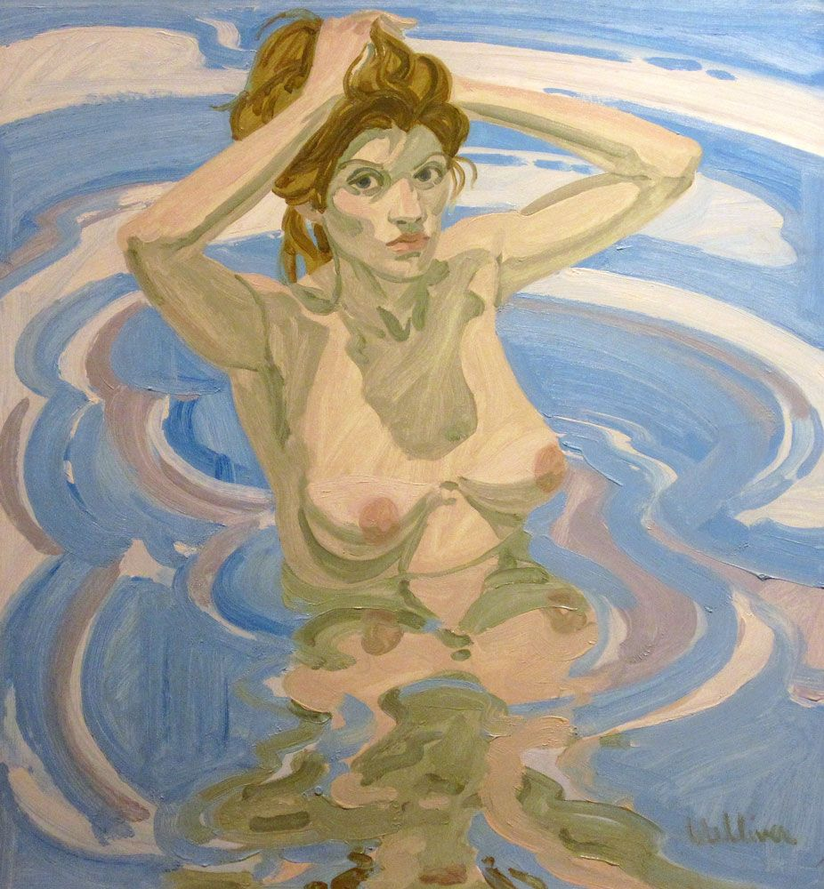 Olivia with Raised Arms, 1967