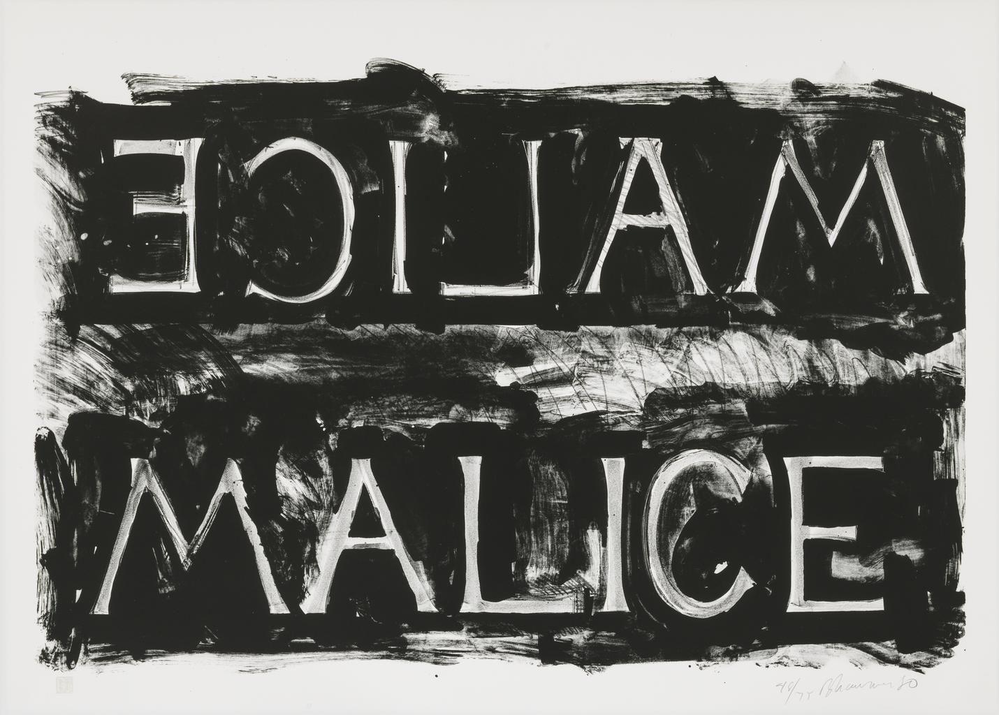 1980, Medium: Lithograph