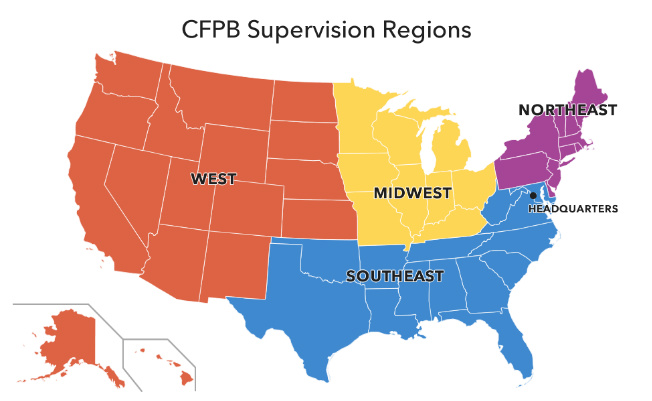 Miss April Supervision Regions