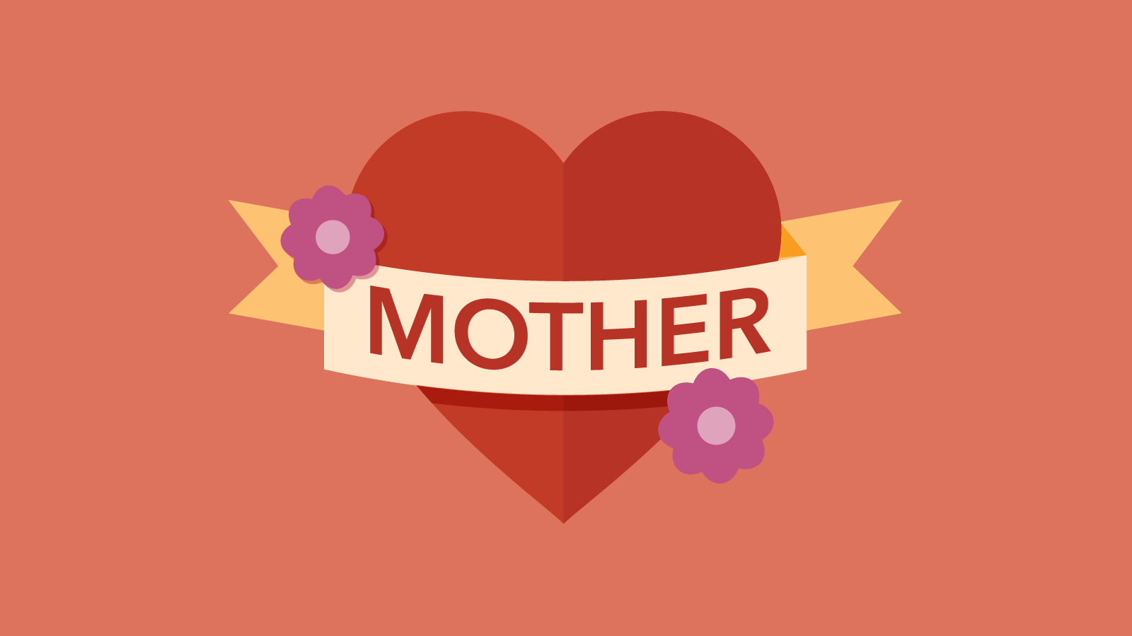 "Graphic of a heart with ""Mother"" written on it"