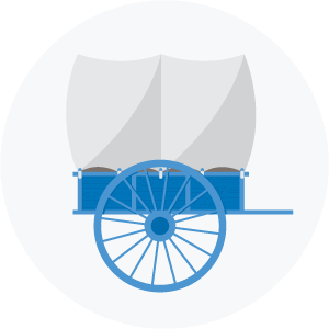 Illustration of an ox cart