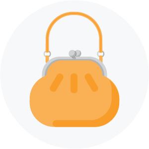 Illustration of a purse