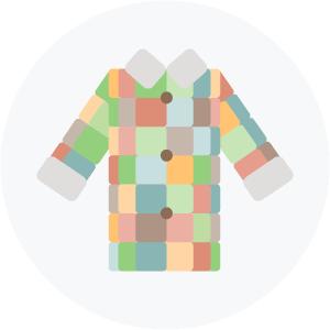 Illustration of a coat