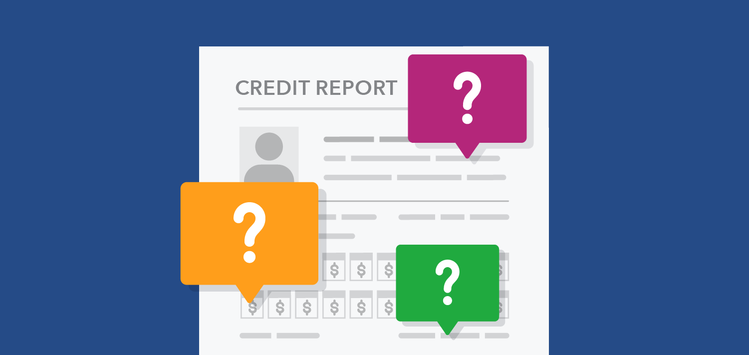 Ask Miss April credit report questions