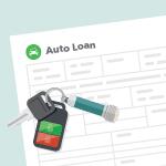 Auto loan form