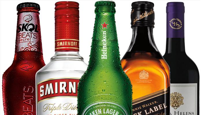 Cervejas e Bebidas Alcoólicas
