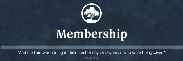 Membership Home Header