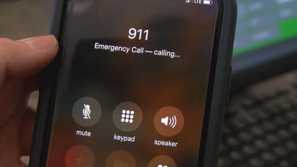 Calling 911 for someone having cardiac arrest