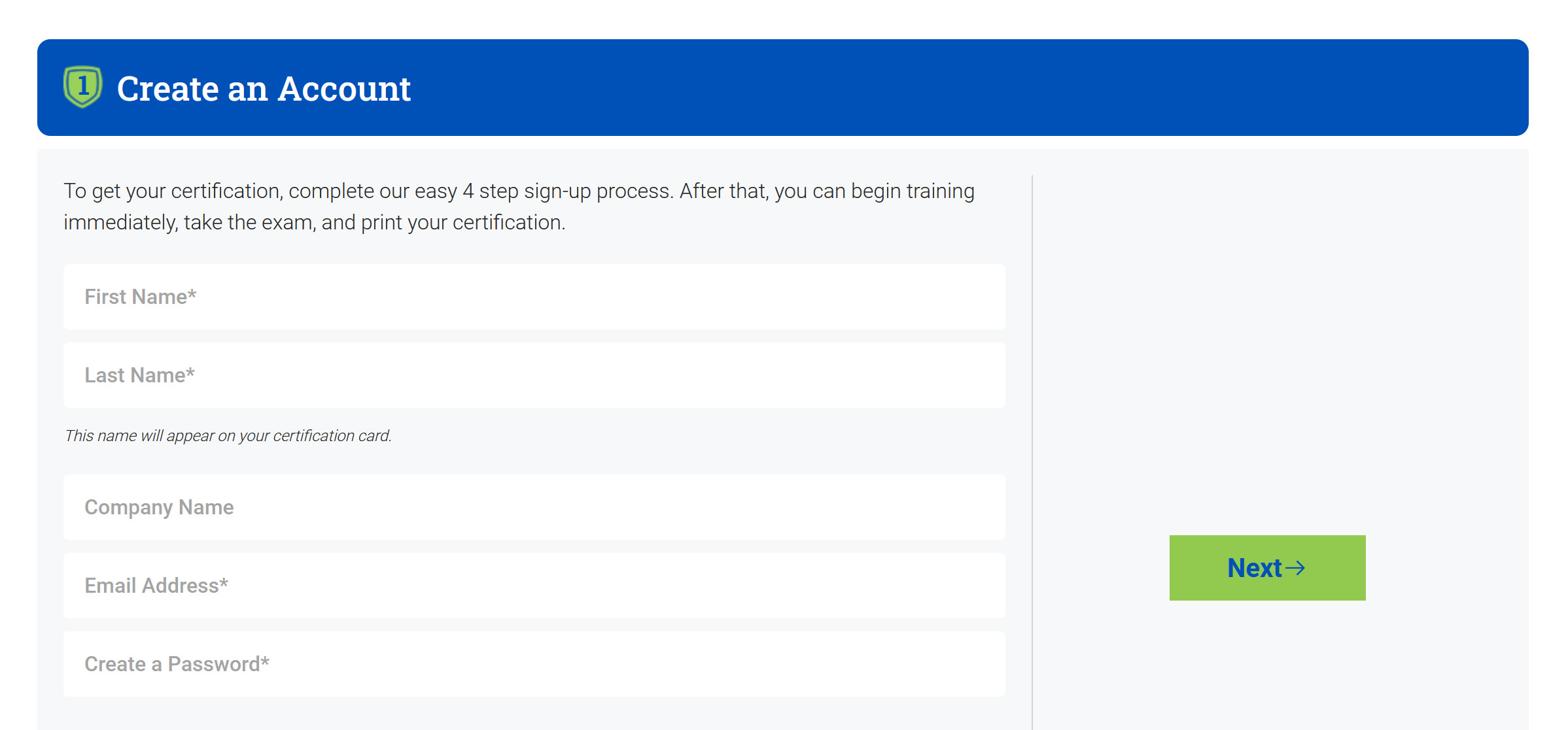 How to create an account on CPRCertified to get your CPR certification online