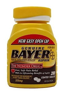 bayer asprin bottle