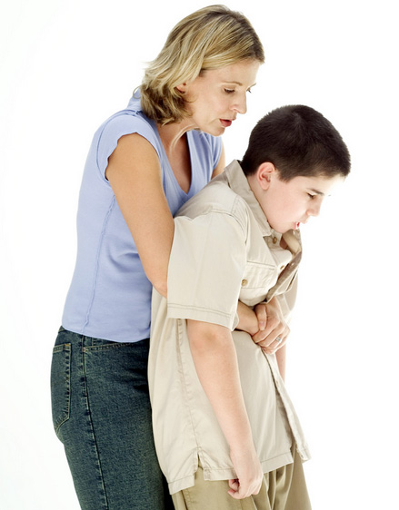 child heimlich maneuver