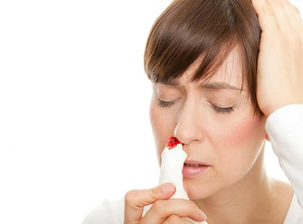 how to make your nose stop bleeding