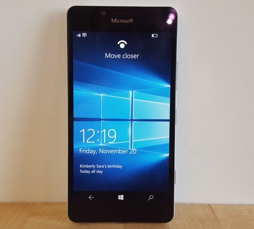 Lumia 950: Windows Hello