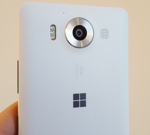 Lumia 950's plastic cover
