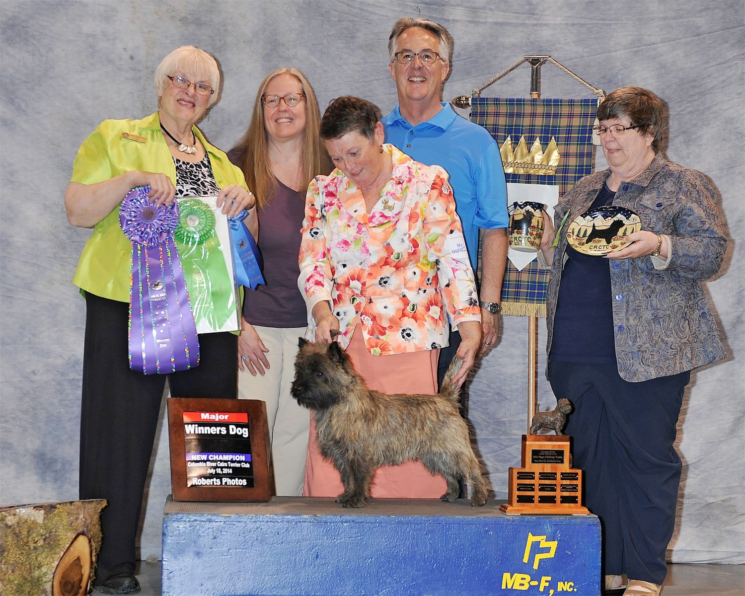 WD - 2014 Specialty - Columbia River Cairn Terrier Club