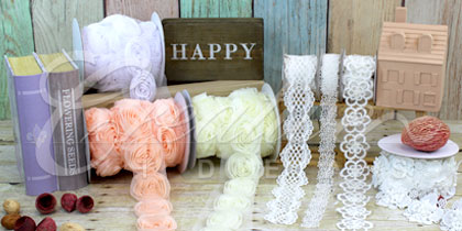Lace trimmings wholesale