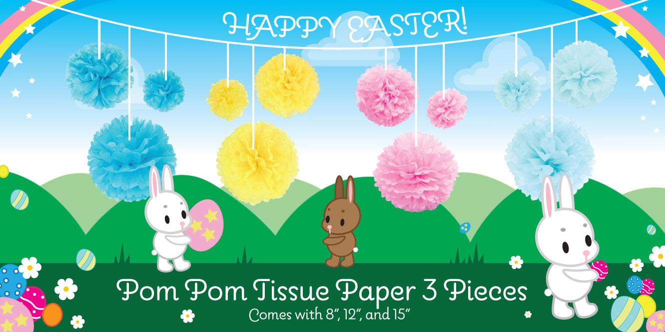 pom pom tissue paper