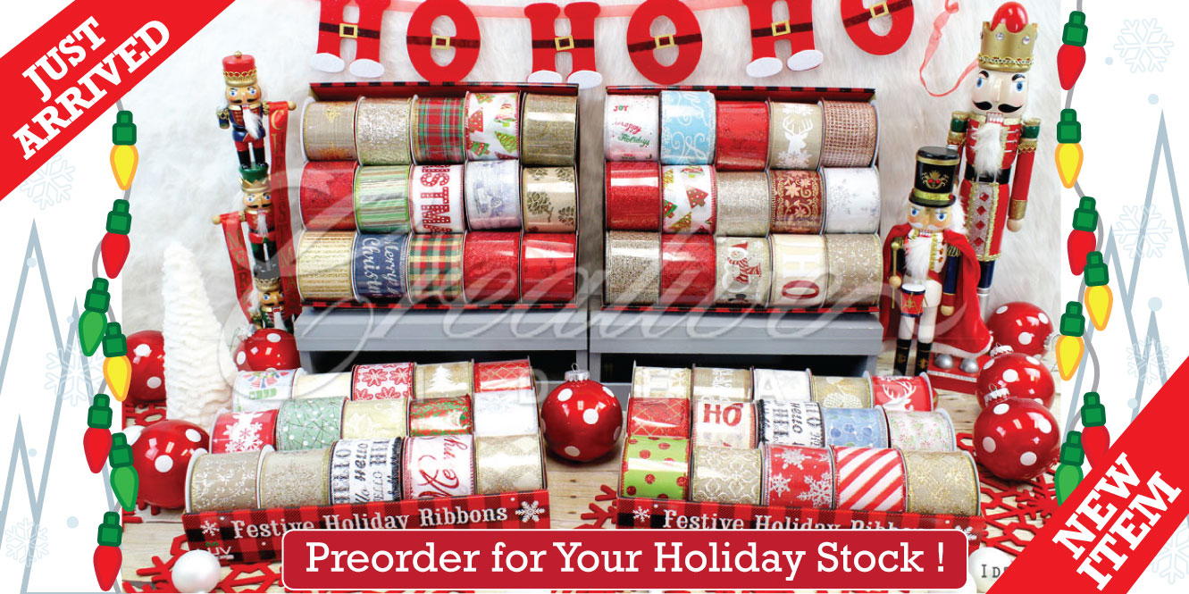 Assorted Christmas Ribbons Creative Ideas Wholesale.jpg