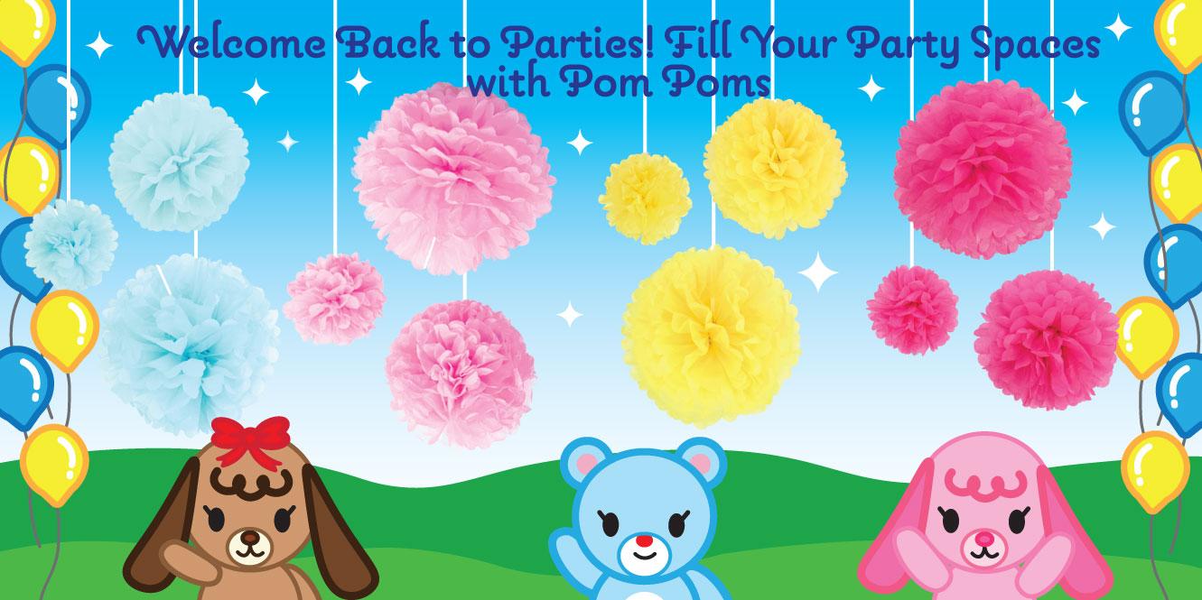 Pom Poms Creative Ideas Wholesale