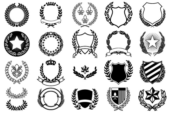 Crests ~ Objects on Creative Market