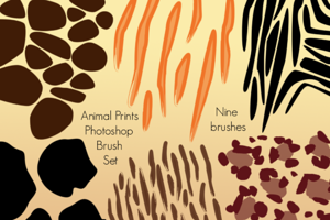 Brushes ~ Animal Prints Photoshop Brushes by PinkPueblo