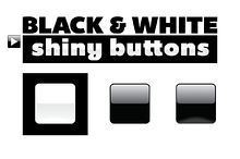 Black & White Icons Available on Creative Market