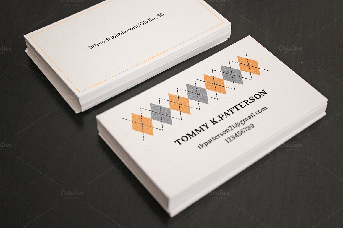 Flyer card realistic psd mock ups product mockups on for Business card presentation template psd