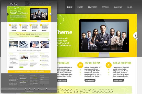 Clean PSD Website Template - Websites - 1