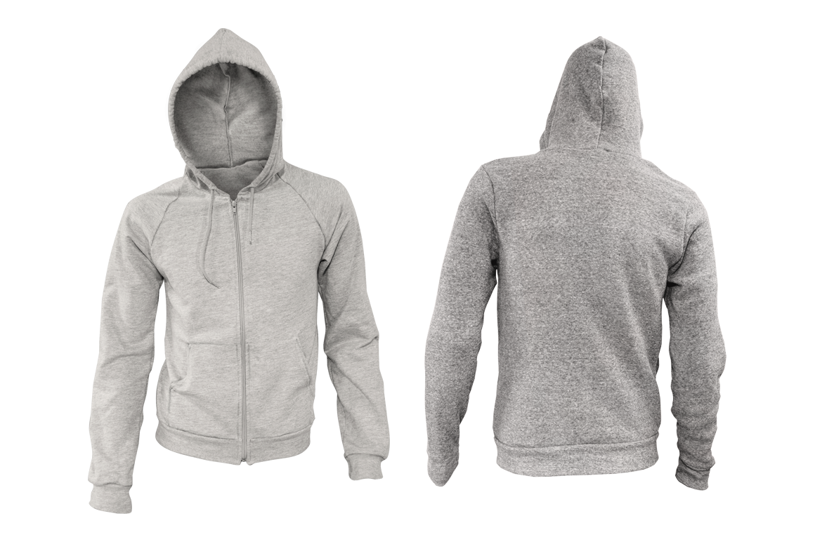 Zip Up Hoodie Mockup Kit Product Mockups On Creative Market