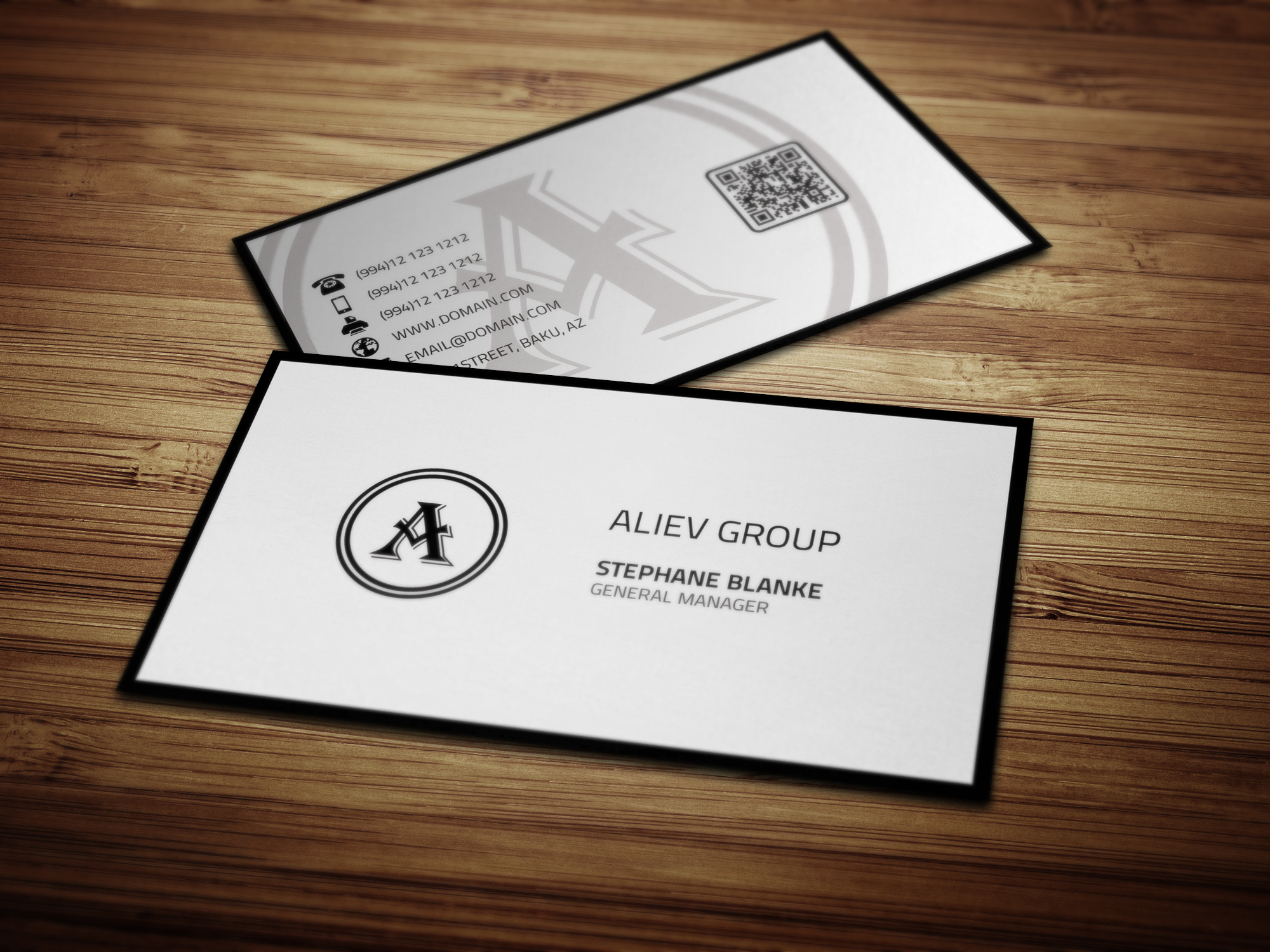 simple business card  graphics on creative market