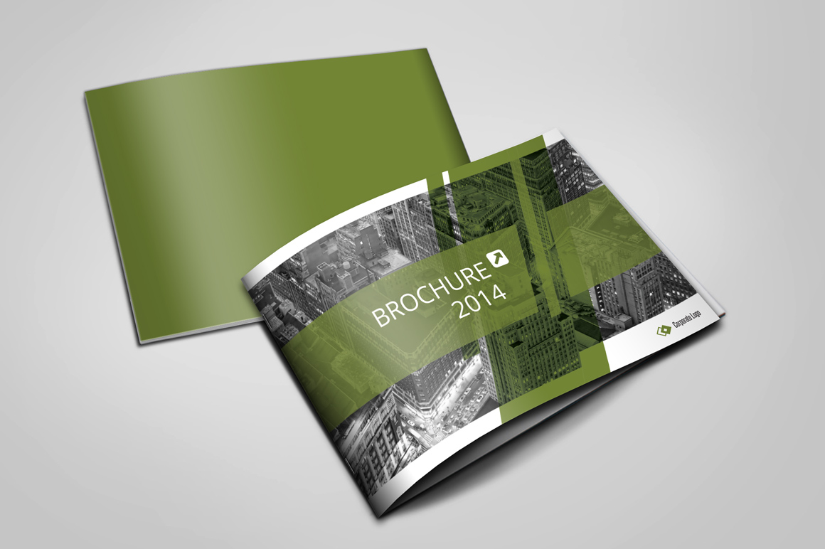 Modern brochure a5 brochure templates on creative market for Modern brochure template
