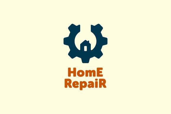 Home Repair Logo ~ Log...