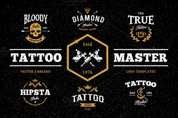 Tattoo Master Pack - Illustrations - 1