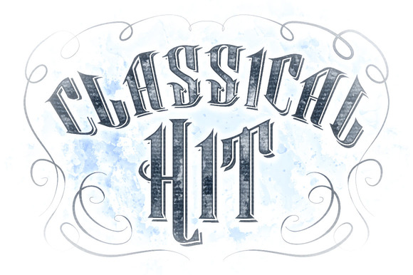 Classical Hit - Fonts - 1