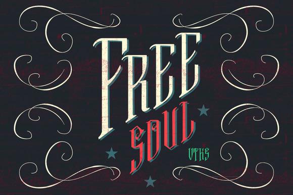 Free Soul font - Fonts - 1