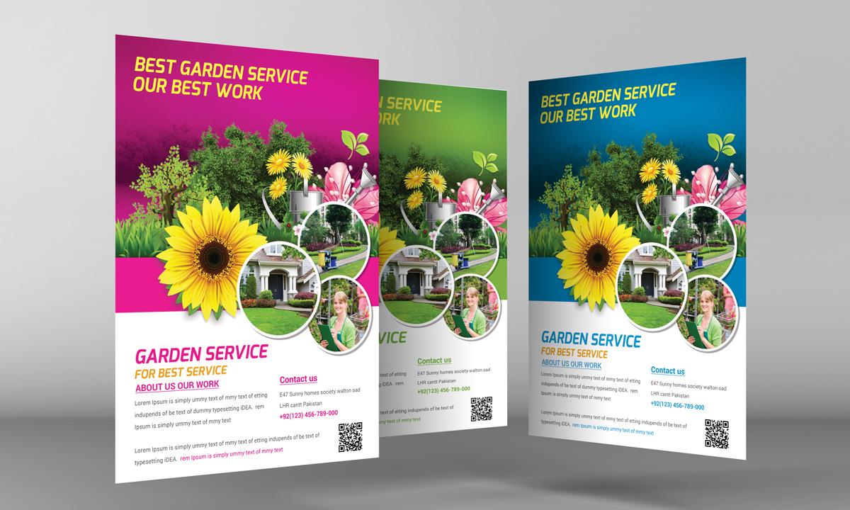 Garden Service Flyer Template Flyer Templates on