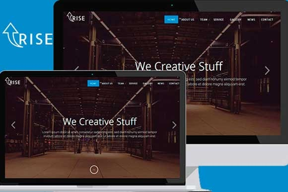 Rise Up – Multipurpose Template - Bootstrap - 1