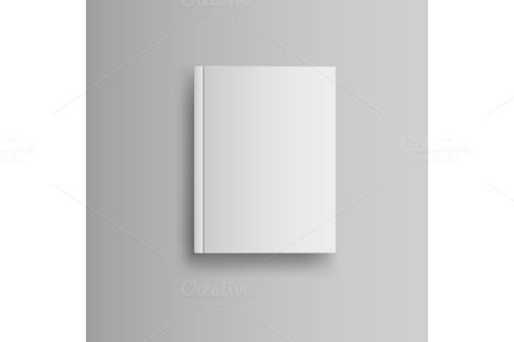 blank book cover graphics on creative market. Black Bedroom Furniture Sets. Home Design Ideas