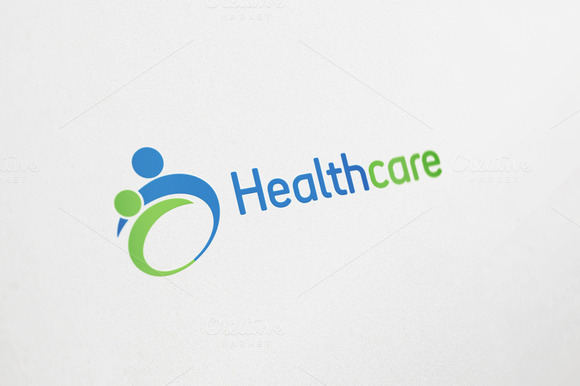 Health Care Logo Design Logo Templates On Creative Market