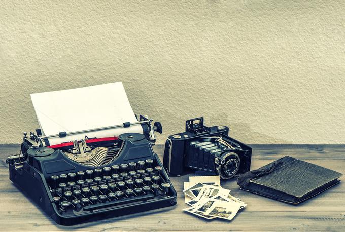 Antique Typewriter Vin... Vintage Typewriter Paper Photography