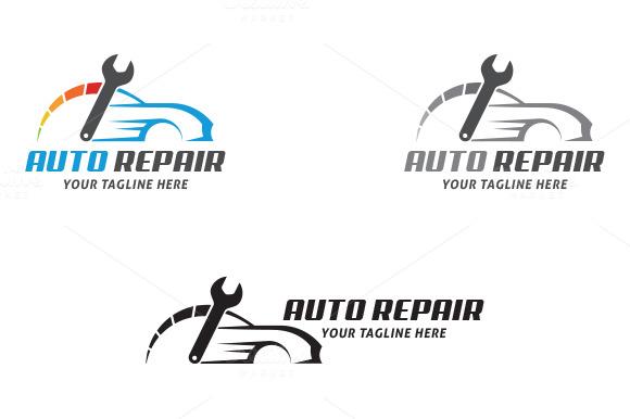 Auto Repair ~ Logo Templates on Creative Market