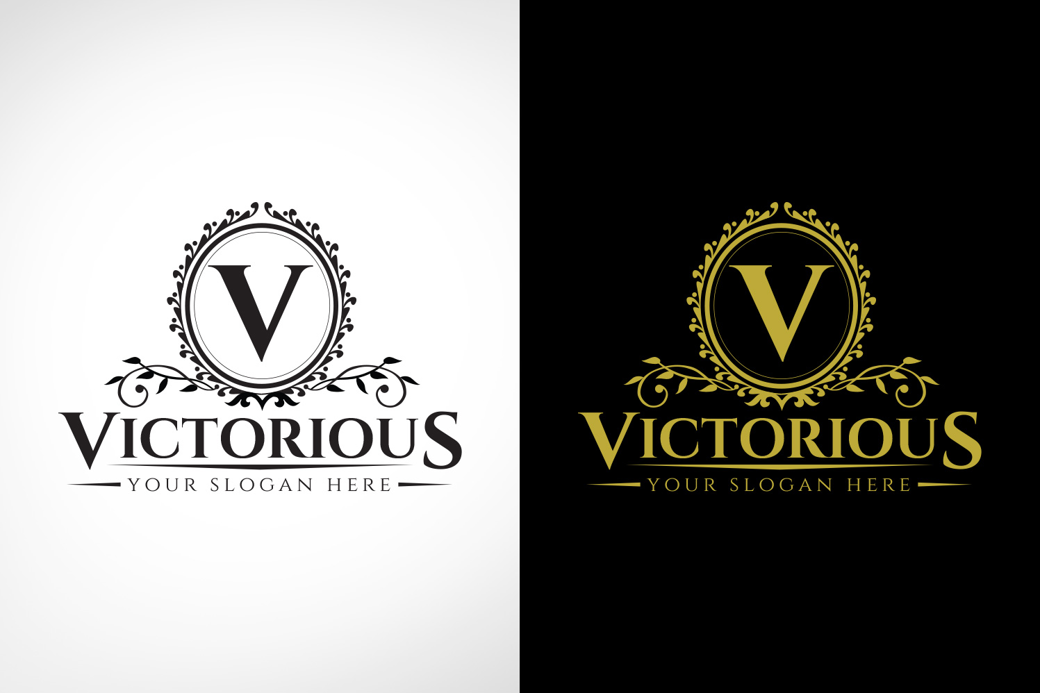 victorious luxury logo