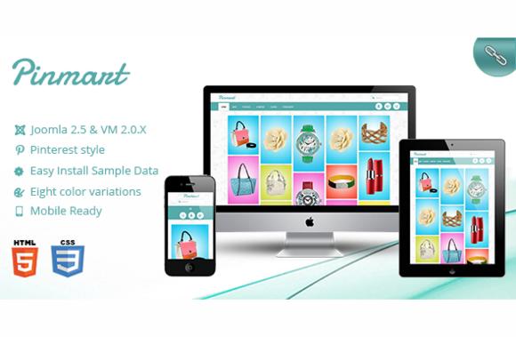 Pinmart-Responsive virtuemart - Joomla - 1