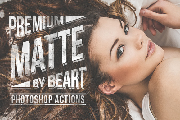 Matte Premium Photoshop Actions - Actions - 1